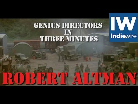 Altman's Best Overlapping Dialogue ... In Three Minutes!
