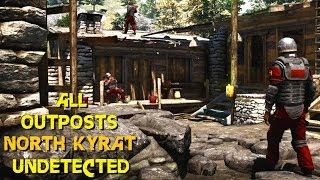 Far Cry 4 - ALL Outposts undetected stealth killer liberations North Kyrat ( GTX 980 OC + 4790k OC )