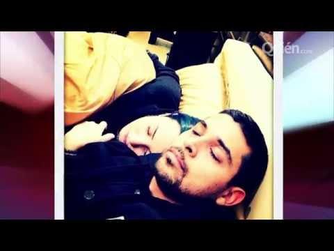 Demi y Wilmer toman tierna siesta en mueblería