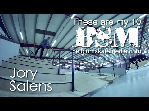 Jory Salens - These Are My 10 - Belgium Skate Media