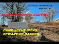 FLAGSTAFF, AZ.  Free Boondocking, Naval Observatory Campground,