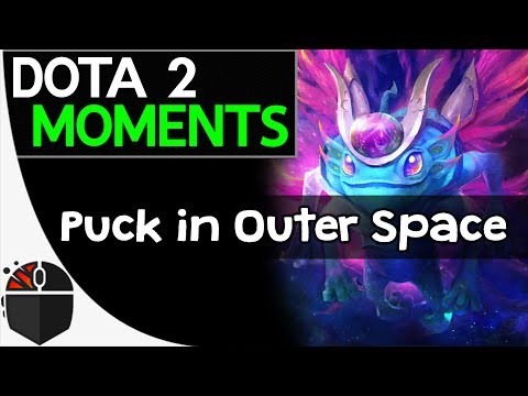 Dota 2 Moments  Puck in Outer Space