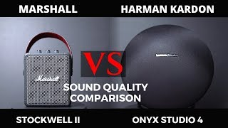 Marshall Stockwell II Vs Harman Kardon Onyx Studio 4 - Sound Comparison