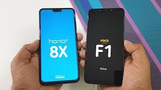 Honor 8X vs Poco F1 Speed Test | TechTag