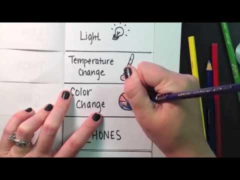 evidence of chemical change foldable youtube. Black Bedroom Furniture Sets. Home Design Ideas