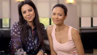 How to do a natural beauty look with Thandie Newton and Kay Montano | NET-A-PORTER