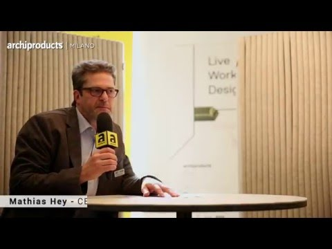 Archiproducts Milano 2016 | HEY SIGN - Mathias Hey