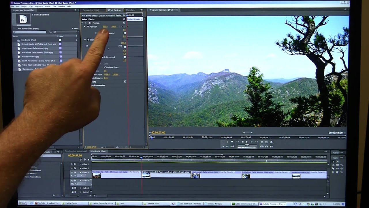 Ken Burns Effect Made Easy in Adobe Premiere - Panning and