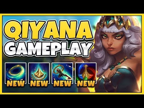 NEW CHAMPION QIYANA IS ACTUALLY 100% NUTS! (BEST ASSASSIN) - League Of Legends