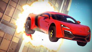 GTA V - FAST & FURIOUS 7 - Skyscraper Jump