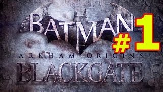 Batman Arkham Origins Blackgate Прохождение Часть 1 БЭТМЕН И ЖЕНЩИНА КОШКА СНОВА В ОДНОЙ КОМАНДЕ
