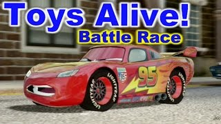 Cars 2: The video Game - Lightning McQueen - Hyde Tour Battle Race