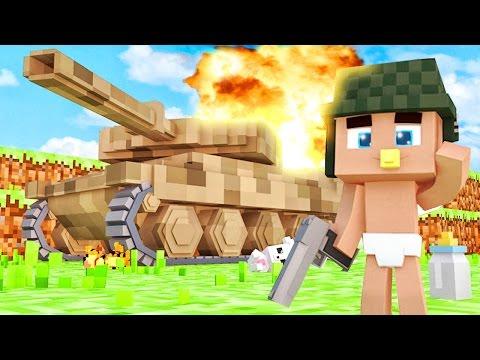 ⚠ Ребенок Попал в Армию Для Детей ! Кто Твой Папочка в Майнкрафте   Мир и Дети Minecraft Kids