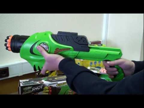Бластер и водяной пистолет Икс-шот Сайд-Вайндер Zuru 3098