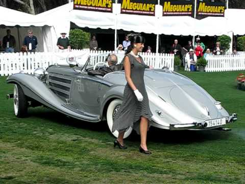 1937 Mercedes Benz 540k Spezial Roadster 2 Youtube