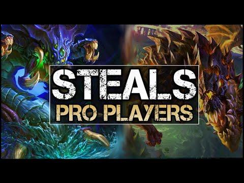 Best Pro Dragon & Baron Steals (League of Legends)