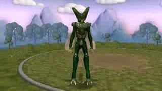 Imperfect Cell from DBZ creature in Spore