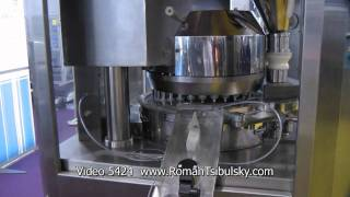 Automatic Rotary Tablet Press. Tablet machine for pressing of tablets. Tablet press GMP
