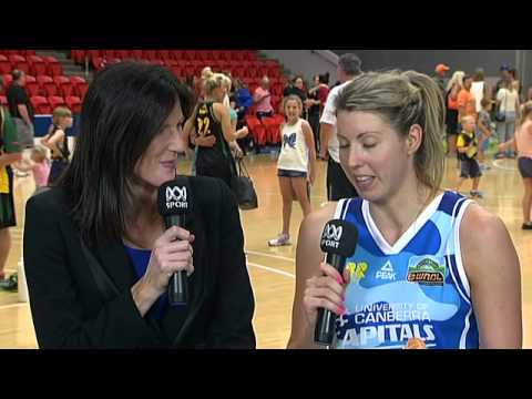 Carly Wilson Round 5 Post-Game Interview #WNBL