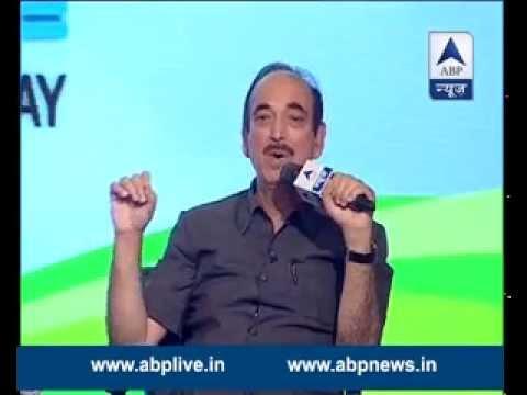 Shikhar Sammelan: Ghulam Nabi Azad answers various questions