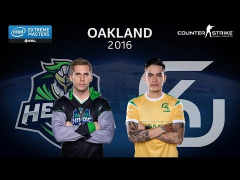 CS:GO - Heroic vs. SK [Cbble] - Group B - IEM Oakland 2016 [2/2]