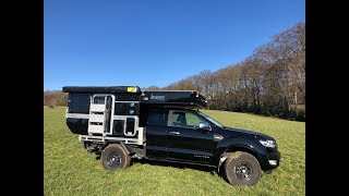 Four Wheel Campers Wildcat UTE - Die Wohnkabine für eine Flachpritsche - 2018