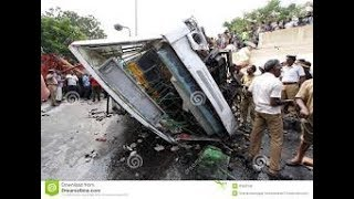 a big road accident teo boy and girls were die
