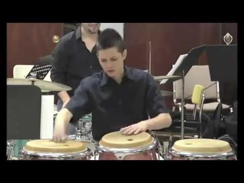 Recital de Graduacion del talentoso joven Daniel Diaz musica Jibaro de PR