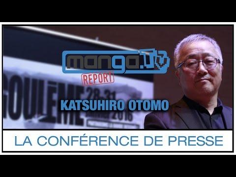 "Download video [Conférence] Katsuhiro OTOMO : ""Si je devais faire Akira aujourd'hui, je ne le referais pas."""
