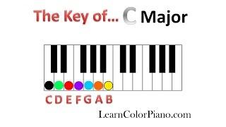 How to learn the Key of C Major-Key Characteristics