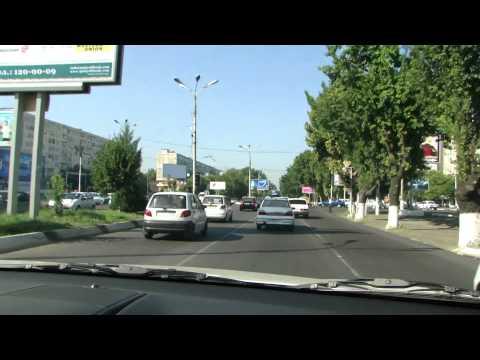 1. Tashkent to Samarkand, Uzbekistan Highway Road 2010 (HDTV 1080p)