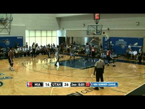 Miami Heat vs Utah Jazz Summer League Recap