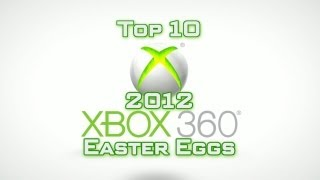 Top 10 Easter Eggs of 2012