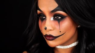 GLAM CLOWN/JOKER MAKEUP TUTORIAL🎪 | Danica Theobald