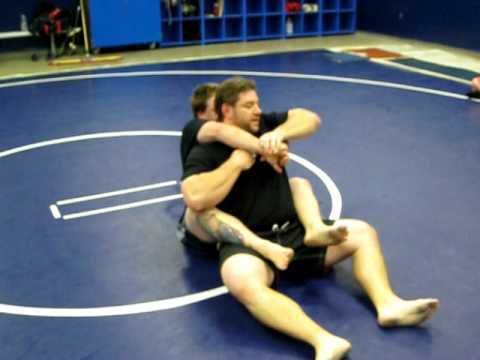 Modesto Grappling Club Instr. #96:  Escaping The Rear-Mount Image 1