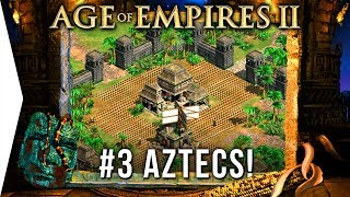 What are horses? - Age of Empires 2 HD ► #3 Quetzalcoatl - [Aztec Campaign Gameplay]