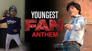 Youngest  FAN Anthem for SRK and Myra. #youngestFan #SRKfan #jabraFan