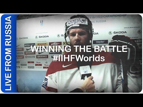 Winning the battle | #IIHFWorlds 2016
