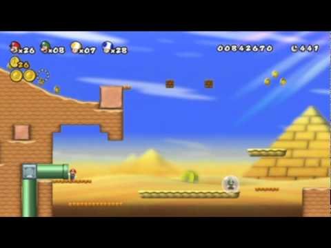 New Super Mario Bros. Wii - Episode 3 It Takes Guts To Be The Bigger