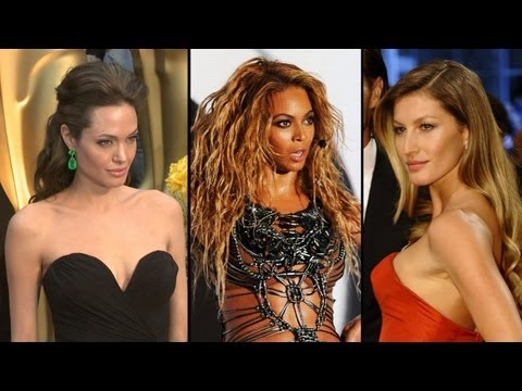 Angelina, Beyoncé, and Gisele on Forbes Most Powerful Women in the World List