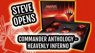 Magic Commander Anthology: Heavenly Inferno Unboxing