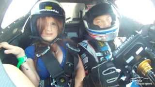Sexy girl with Mato Homola in Race Taxi