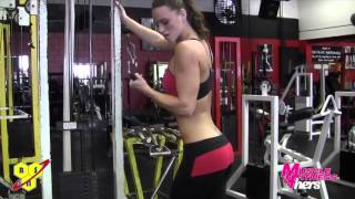 Training Arms with Tabitha Klausen  IFBB Bikini Pro