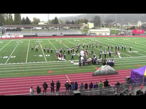 North Thurston High School Marching Band - Sumner Sunset Festival - 2012