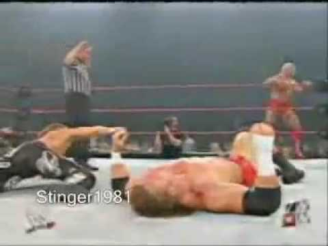 Triple H vs Ric Flair & HBK The Beginning of Evolution!