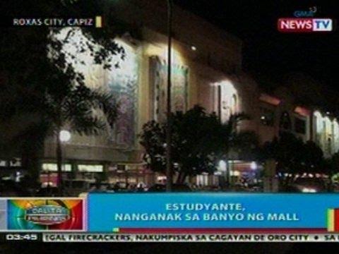 BP: Estudyante sa Roxas City, Capiz, nanganak sa banyo ng mall