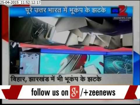 Earthquake shakes Delhi, Uttar Pradesh, Bihar