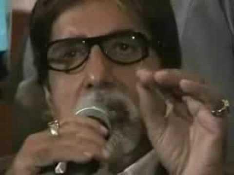 Amitabh Bachchan Apology to Raj Thakre