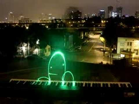 Lightpaint Piano Player