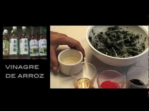 video receta de una comida ligera y sabrosa (oriental)
